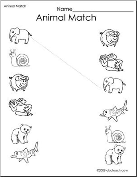 printable zoo animal matching game pinterest the world s catalog of ideas