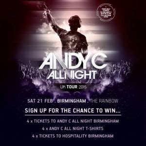 fortitude magazine competition for andy c all night in