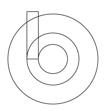 cara membuat outline di illustrator cara mudah membuat logo beats by dr dre dengan illustrator