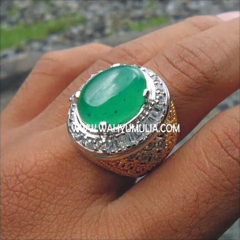 Batu Akik Hijau Kode 17 batu permata hijau garut sold batu permata
