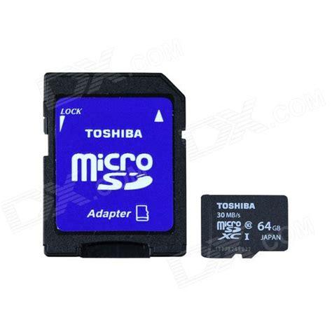 Microsd Toshiba 64gb toshiba micro sdxc card w sd card adapter black white 64gb class10 free shipping