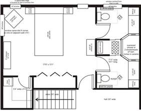 2 Bedroom Addition Floor Plans Master Bedroom Addition Floor Plans His Ensuite