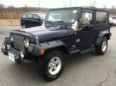 2006 4 Door Jeep Wrangler Sell Used 2006 Jeep Wrangler Unlimited Sport Utility 2