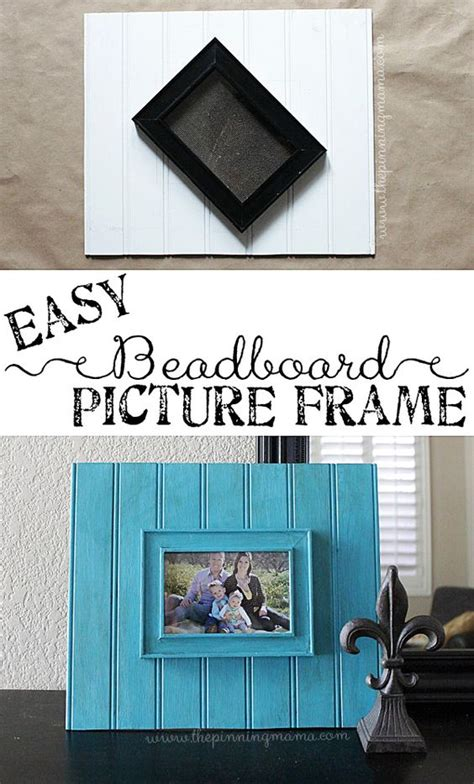 beadboard picture frames 4 step diy beadboard picture frame 2 ways picture