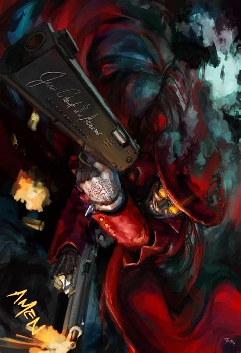 alucard iphone wallpaper guns hellsing alucard wallpaper allwallpaper in 6199