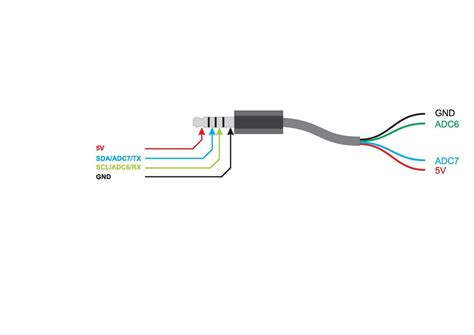 wiring diagram for headphone circuit diagram for