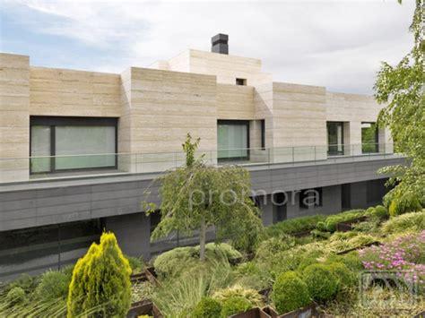 piso chalet finca fachada chalet moderno finca de inmobiliaria promora