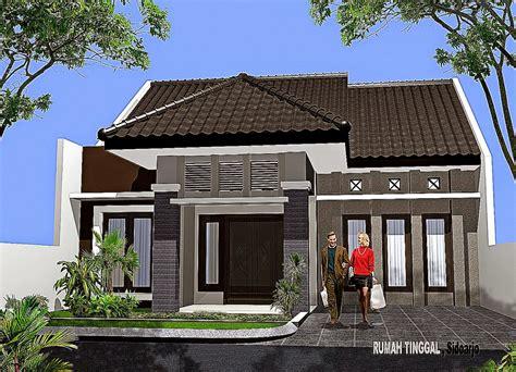 desain gapura sederhana model rumah sederhana minimalis design rumah minimalis