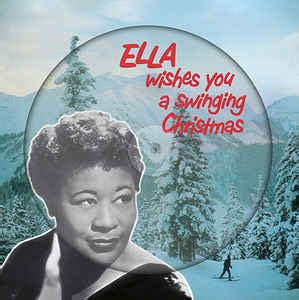 ella wishes you a swinging christmas ella fitzgerald ella wishes you a swinging christmas