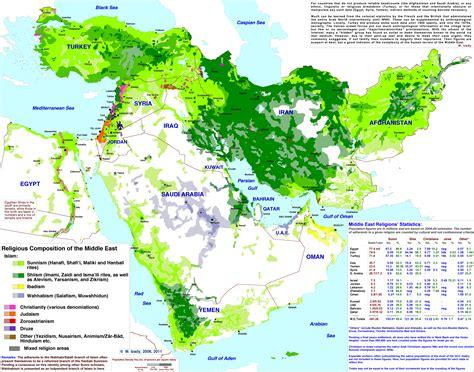 middle east map sunni shia sunni shia middle east map the gulf