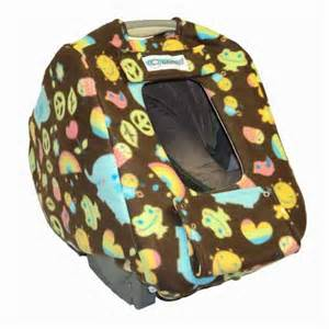 Car Seat Cover For Baby Infashield Infant Car Seat Cover Fleece Peanut The