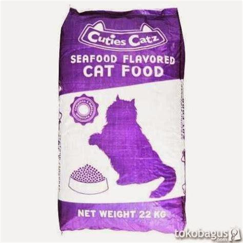Makanan Kucing Cuties Seafood 1kg Repack review makanan kucing cuties catz radiokucing