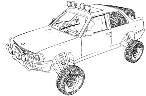 off road truck coloring page off road truck free coloring pages