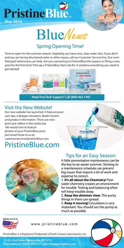 pool care tips newsletter with pool care tips pristineblue