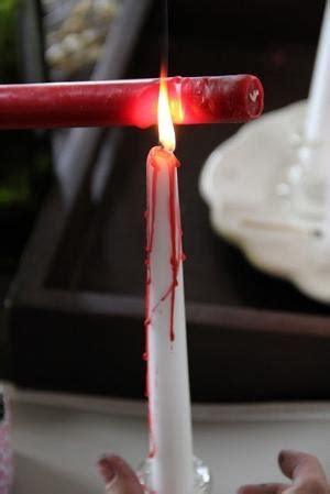 Diy Bloody Candles by Candles