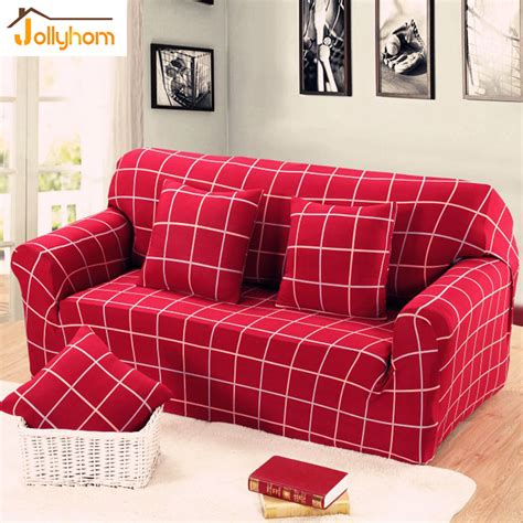plaid sofa slipcovers red sofa slipcover reviews online shopping red sofa