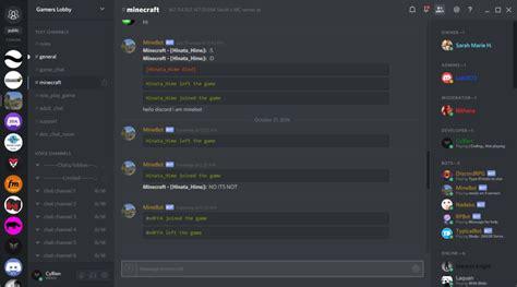 discord quote plugin minecordbot chat related minecraft bukkit plugins curse