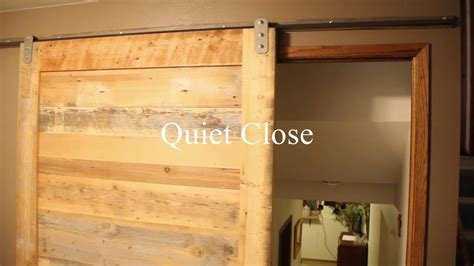 sliding door noise reduction privacy functionality noise reduction of sliding barn