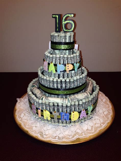 How To Make A Birthday Cake Out Of Paper - money cake we need to make this for pearl s