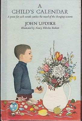 themes short story a p john updike vg hardcover first edition a child s calendar john updike