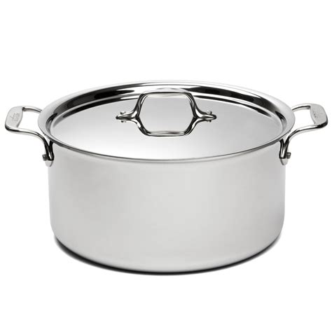 Meiwa 26 Cm Stainless Steel all clad stainless steel stockpot with lid 26cm 7 6l