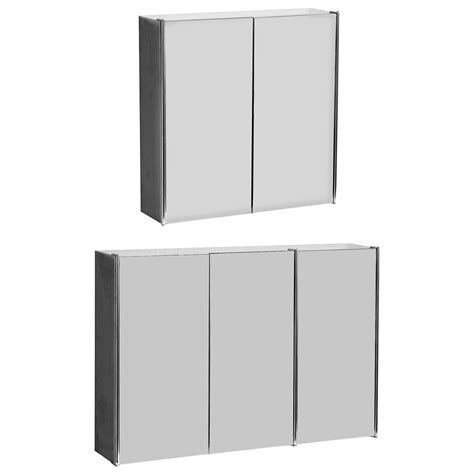 triple bathroom cabinet bathroom cabinet double triple door wall mounted mirror