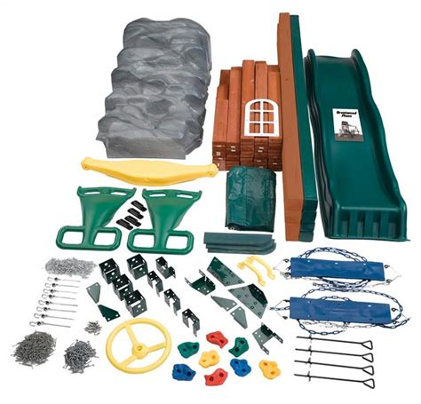 build a swing set kit build your own playset kit
