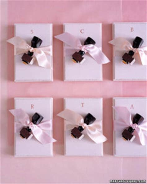 wedding shower favor ideas martha stewart all pink bridal shower invitations favors and decorating ideas martha stewart weddings