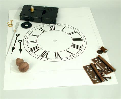 shaker clock plan parts schlabaugh sons