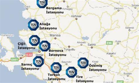 arac vize muayne bakim tuvturk istasyonlari