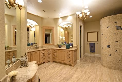 Shower Ideas Small Bathrooms by 30 Bathrooms With L Shaped Vanities