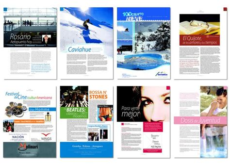 contoh layout yearbook magazine design beautification print pinterest