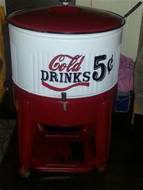 vintage soda machines coolers