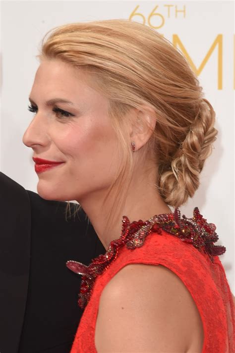 claire danes red hair diy claire danes 2014 emmys hair