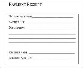 Template For Receipts by Payment Receipt 20 Free Documents In Pdf Word