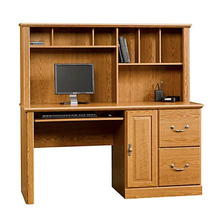Sauder Orchard Computer Desk With Hutch by Sauder Orchard Computer Desk With Hutch 58 34w