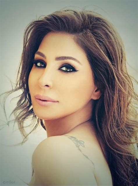 elissa is glamours in new photo shoot celebrity news