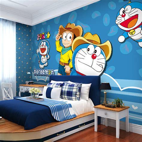 doraemon wallpaper for room japanese anime wallpaper doraemon wall mural cartoon photo