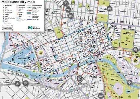 printable maps melbourne map of melbourne vic holidaymapq com