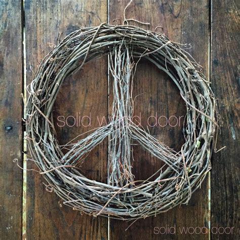 lighted peace sign wreath 18 spring easter peace sign wreath christmas wreath