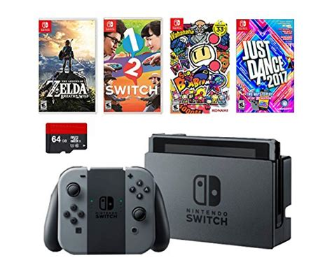 Nintendo Switch Grey Bundle 1 Free Pouch And Screen Protector pt elife llc on walmart marketplace marketplace pulse