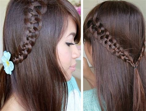 hairstyles for school long straight hair hairstyles for long hair for school