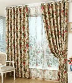 Vintage Floral Curtains Get Cheap Vintage Floral Curtains Aliexpress Alibaba
