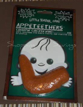 Appeteether Chompin Chicken Wing 2011 gift guide toader appeteethers