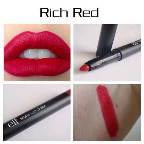 Studio Matte Lip Color Rich e l f studio matte lip color rich reviews photos makeupalley