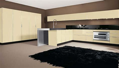 sleek kitchen designs ultra glossy and sleek kitchen design crystallo from