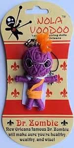 Nola Voodoo Handmade String Dolls - dr nv dolls