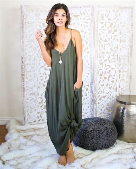 Maxi Dress To Tie At Bottom by M 225 S De 25 Ideas Incre 237 Bles Sobre Vestidos Color Verde