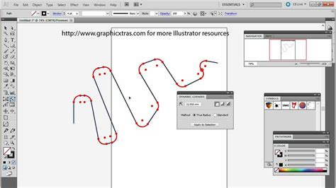 adobe illustrator cs6 rounded corners rounded corners in illustrator using dynamic corners