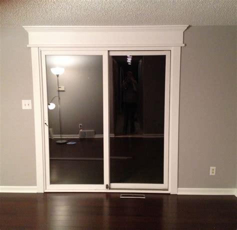 transcendent sliding glass door trim diy sliding glass